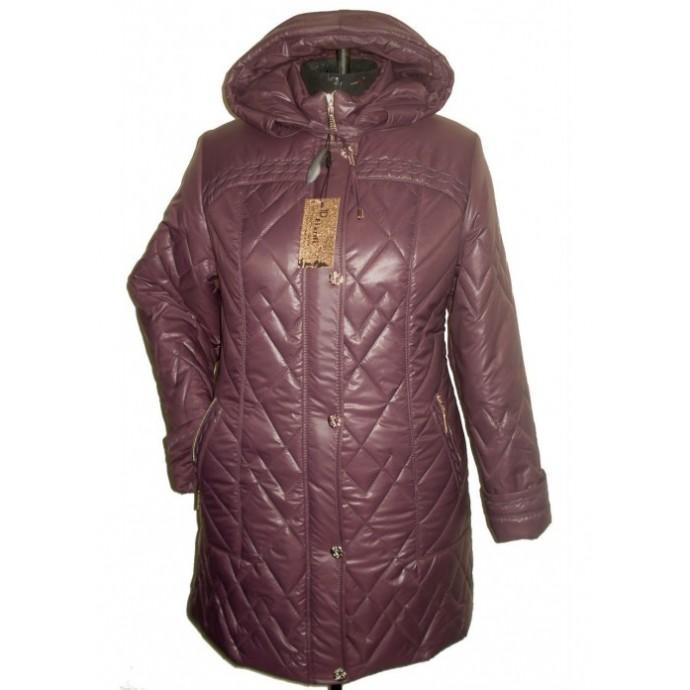 Женская зимняя куртка с капюшоном НК 500-38-1