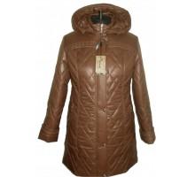 Стёганая, модная женская куртка с капюшоном НК 534