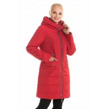 Весенняя куртка красная ЛАНА105-90