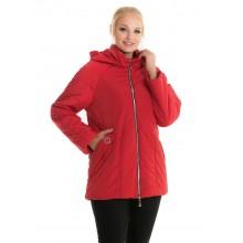 Красная женская куртка демисезонная ЛАНА114-80