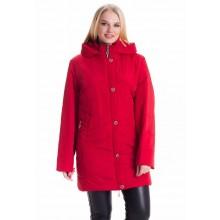 Красная куртка женская ЛАНА129-78