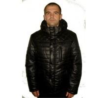 Зимняя мужская куртка черная ЛАНА4