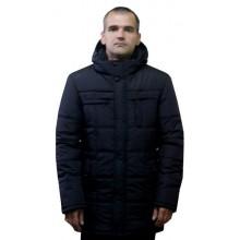 Зимняя мужская куртка черная ЛАНА8-11