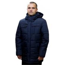 Зимняя мужская куртка синяя ЛАНА8-11