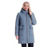 Модная куртка с капюшоном ЛАНА66115-5