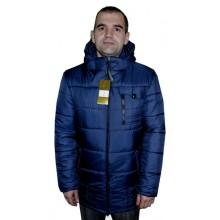 Зимняя мужская куртка синяя ЛАНА05-1