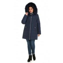 Женская зимняя куртка с мехом ЛАНА6675-49