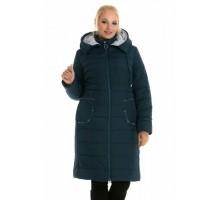 Зимний женский пуховик с капюшоном ЛАНА6669-48-1