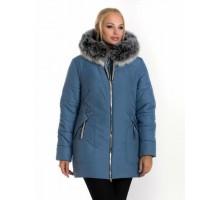 Молодежная женская зимняя куртка ЛАНА66107-58
