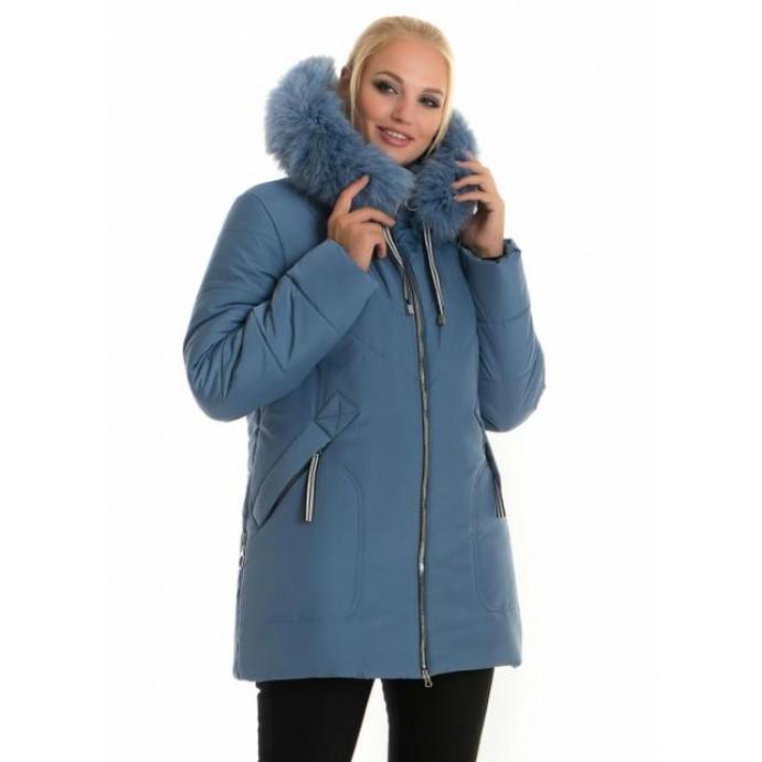 Молодежная женская зимняя куртка ЛАНА66112-58