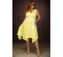 Платье Джордан лимон МАРТ1644