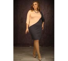Платье Каламбина т.серый МАРТ1645