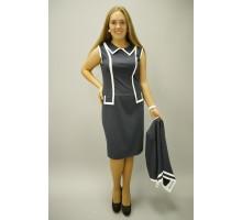 Платье Жасмин с жакетом 58-64 размеры КГР90057