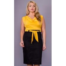 Женское легкое платье Анхель 58-64 размеры КГР797