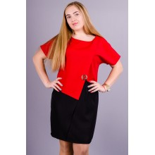 Модное женское платье Майа 50-56 р. КГР19009