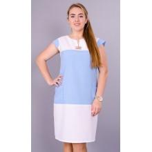 Летнее женское платье Эдита 58-64 размеры КГР79002-2