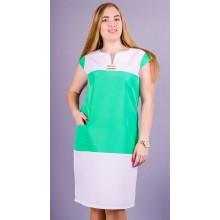 Летнее женское платье Эдита 50-56 размеры КГР19004