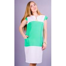 Летнее женское платье Эдита 58-64 размеры КГР793