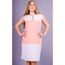 Летнее женское платье Эдита 50-56 размеры КГР19003