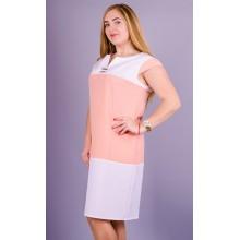 Летнее женское платье Эдита 58-64 размеры КГР792