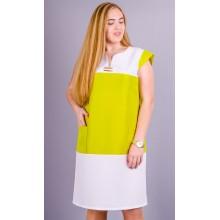 Летнее женское платье Эдита 58-64 размеры КГР794