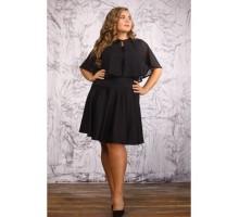 Платье Марокко черное Осень3052