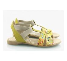 Горчичные сандали КИРА9411-16-01Г