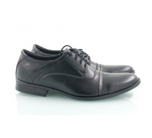 Кожаные мужские туфли на шнуровке КИРА8424-М-3