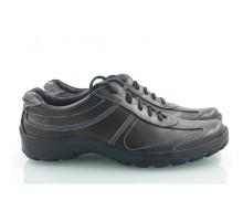 Кожаные спортивные мужские туфли КИРА8410-MD02