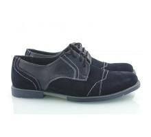 Кожаные мужские туфли КИРА8406-MD06
