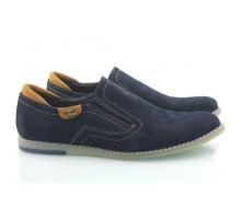 Замшевые мужские туфли КИРА8405-MD08