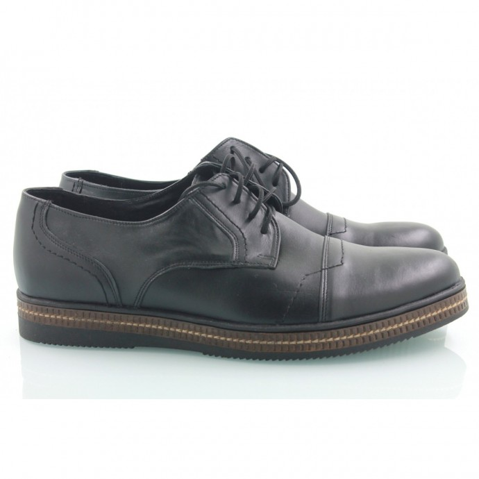 Кожаные мужские туфли КИРА8403-MD09