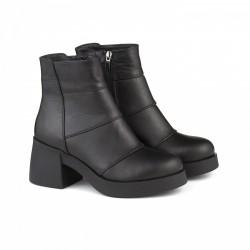 Кожаные демисезонные ботиночки КИРА1193-524-01