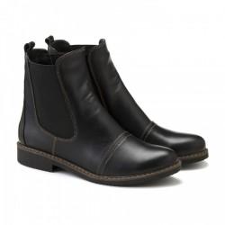 Кожаные челси черного цвета КИРА1197-1018-032