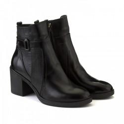 Лаковые демисезонные ботинки КИРА1195-6055-01