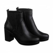 Женские стильные ботинки на резинке КИРА1177-VM-623-04