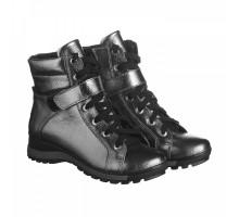 Серебряные ботинки на платформе КИРА1161-vm-murena-05