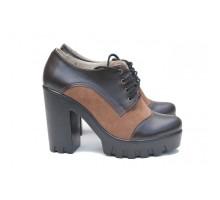 Кожаные туфли КИРА2017-818-10k