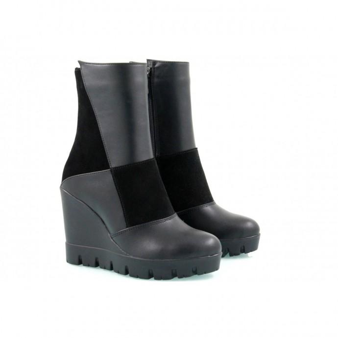 Демисезонные ботинки КИРА12-829-01З-дд