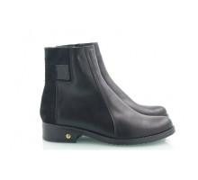 Женские ботинки с замшевой вставкой КИРА22203-VD04