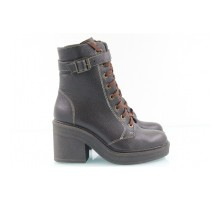 Коричневые ботинки КИРА12-714-04