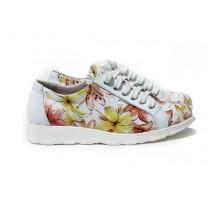 Цветные женские туфли КИРА2057-857-03ж
