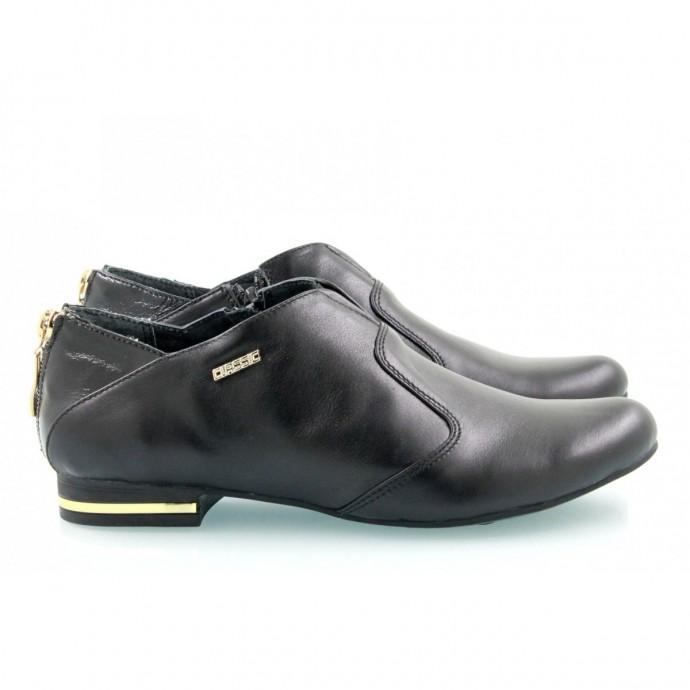 Кожаные туфли КИРА2076-1012-01