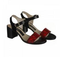 Лаковые босоножки на каблуке КИРА11127-6015-14