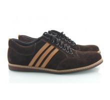 Замшевые мужские туфли КИРА8401-MD11