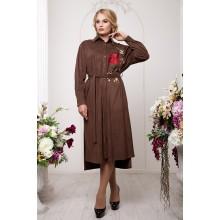 Платье-рубашка с вышивкой РРРА30-33