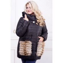 Зимняя куртка с мехом РРР574