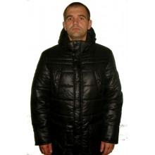 Зимняя мужская куртка черная ЛАНА5