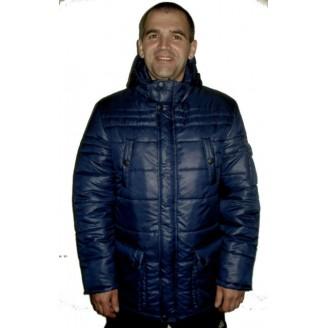 Зимняя мужская куртка синяя ЛАНА5-1