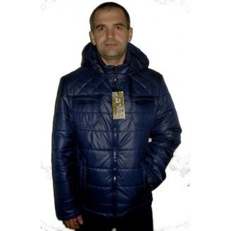 Демисезонная мужская куртка синяя ЛАНА2-1